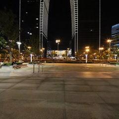 东方之门夜景